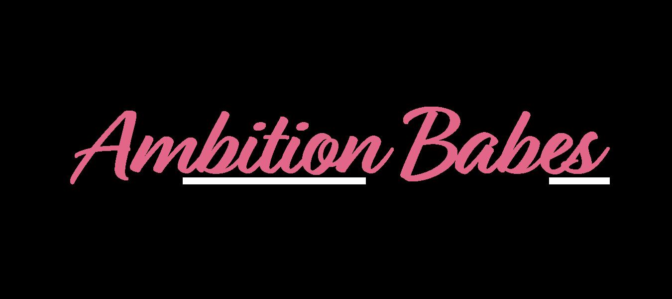 Ambition Babes logo 2 pink